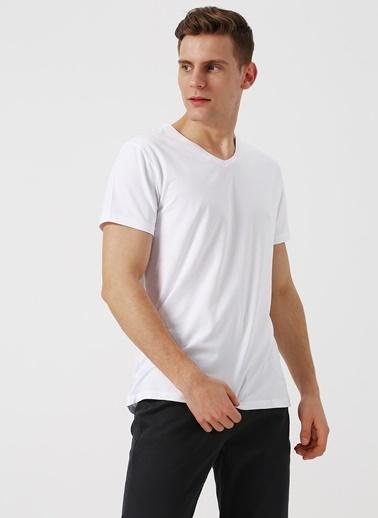 Fabrika Tişört Beyaz